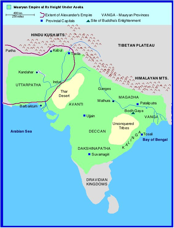 Mauryan Empire Asoka