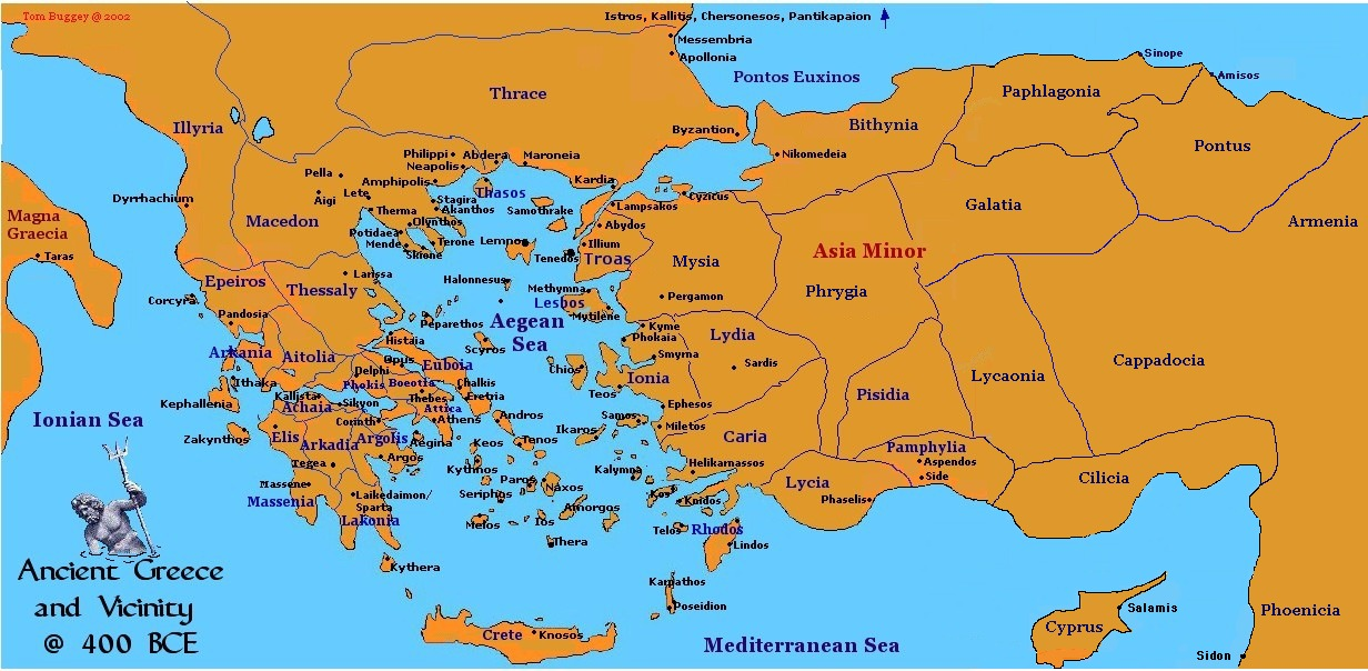 Ancient Greece & The Aegean ...